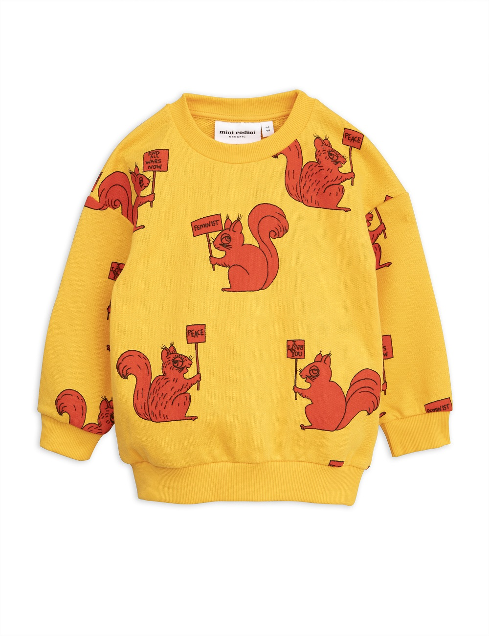 Sudadera Mini Rodini Squirrel