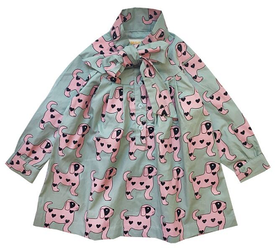 Vestido Hugo Loves Tiki Pinks Dogs