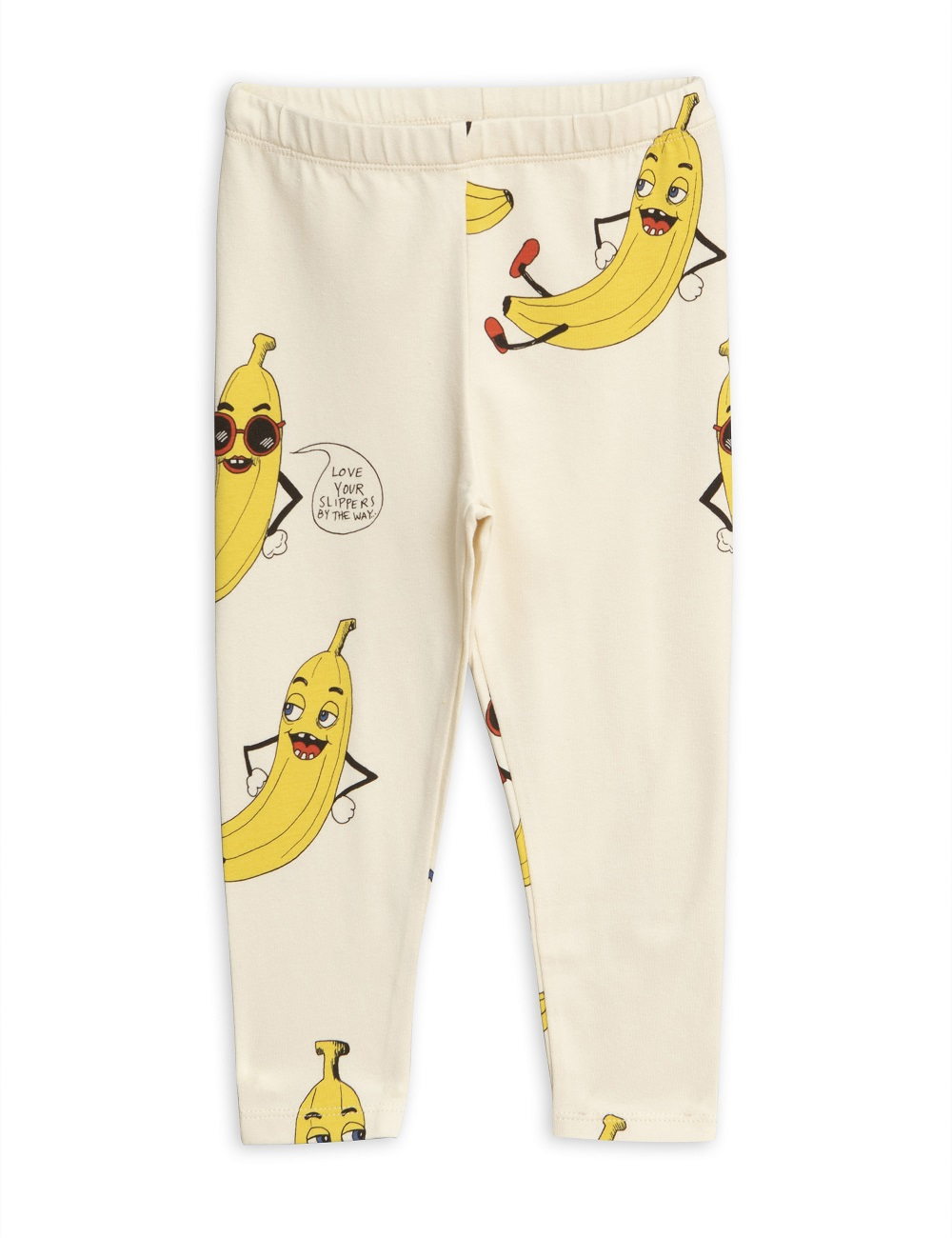 Legging Mini Rodini Banana Blanco Roto