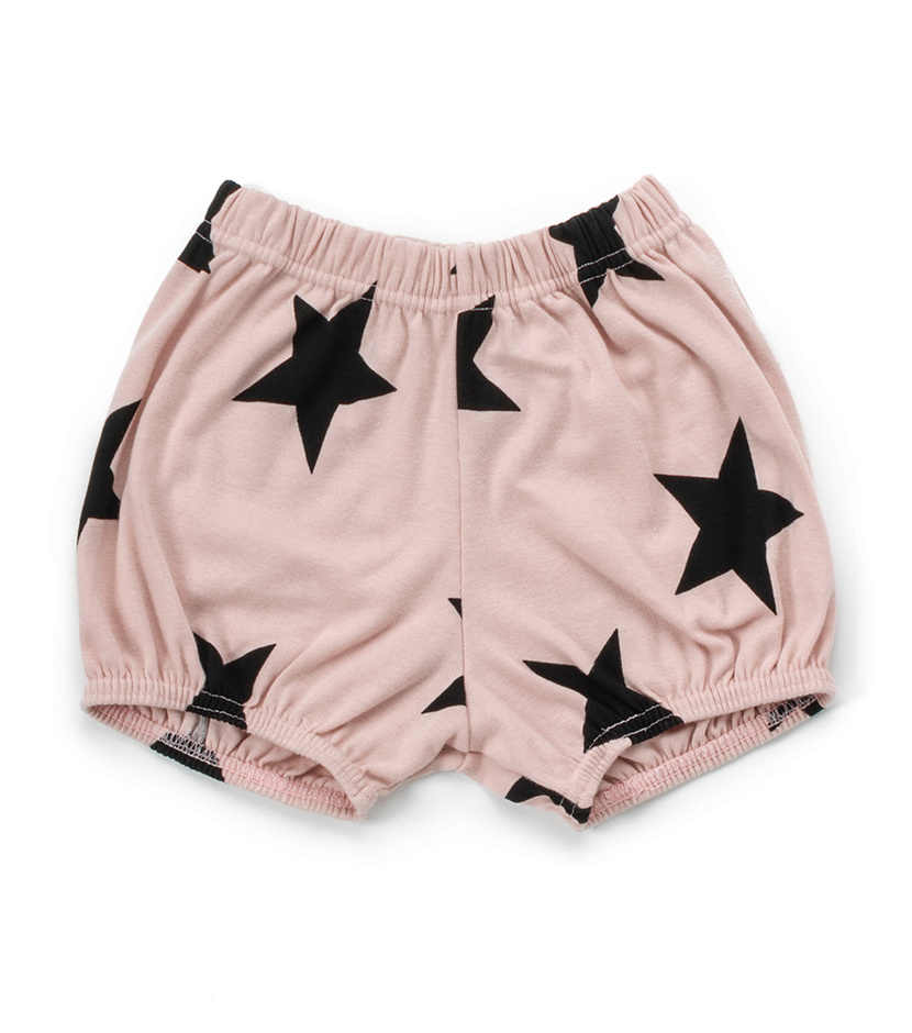 Short Nununu Star Yoga Pink