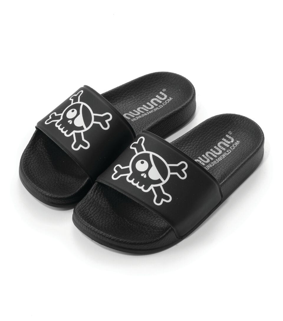Chanclas Nununu Skull Black