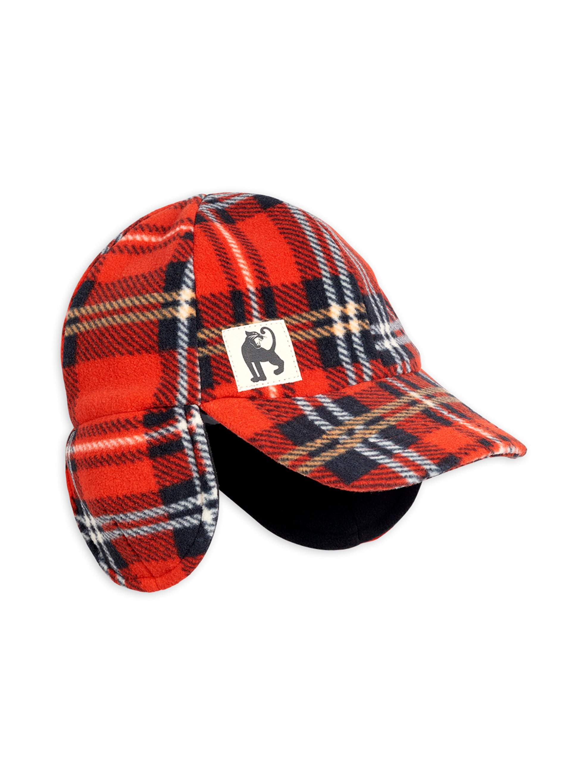 Gorra Mini Rodini Fleece Check