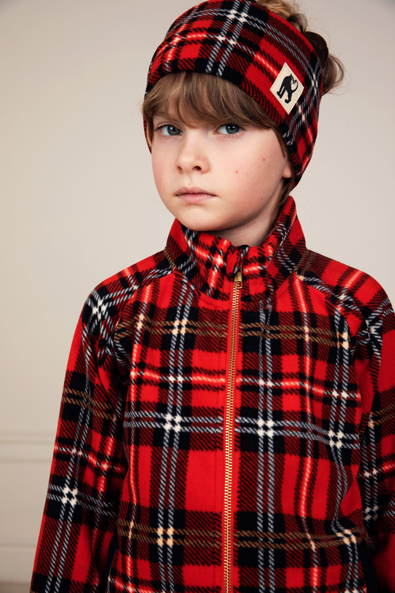 Braga Mini Rodini Fleece Check