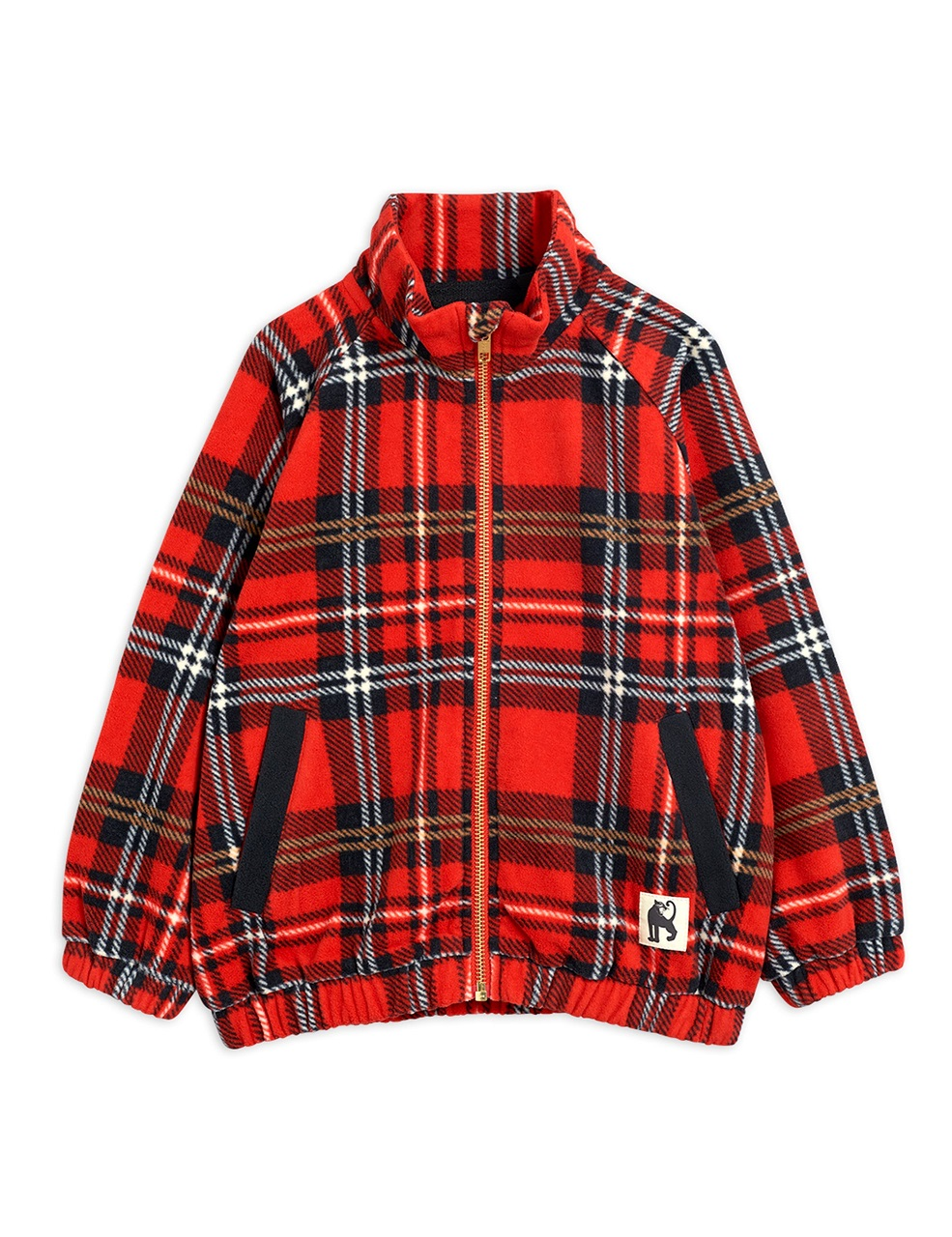 Chaqueta Mini Rodini Fleece Check